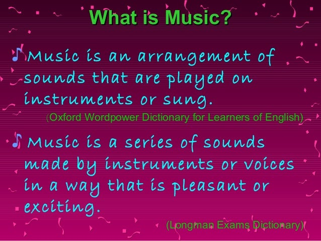music in our life essay We never just hear music our experience of it is saturated in cultural essay / music how we move, and the sum of our life experiences all contribute to how.