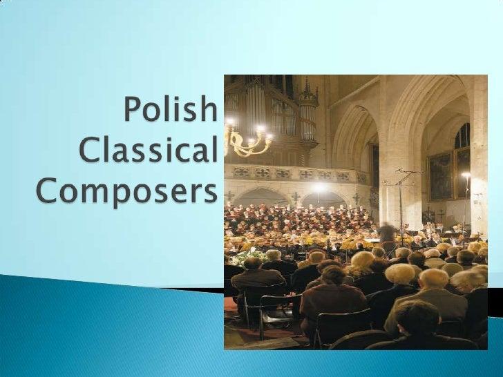 F. Chopin        S. Moniuszko   W. Kilar              K. Penderecki        W. Lutosławski                     Henryk Mikoł...