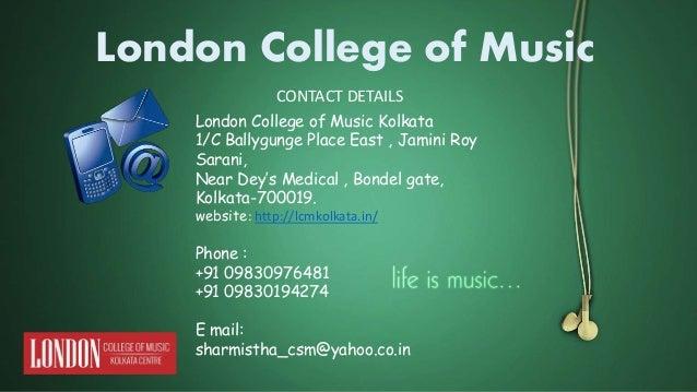 Music institution in kolkata