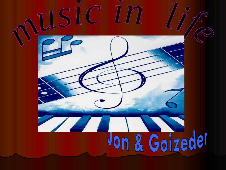 music in  life Jon & Goizeder