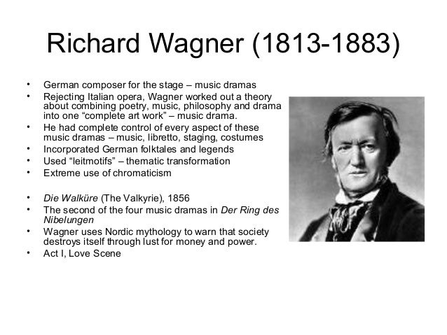 the themes of love and lust in the works of richard wagner 'wagner' is said like varg-ner 'richard' is easy to say born: 22nd may 1813 in leipzig there is another video of music by richard wagner on the following news page: theme (2) what's new (2.