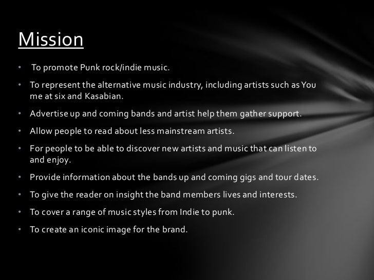 Music magazine Slide 3