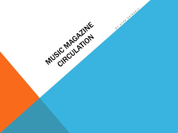 UK MUSIC MAGAZINE CIRCULATION FIGURESThe latest ABC circulation figures have been released for the period July to   Decemb...