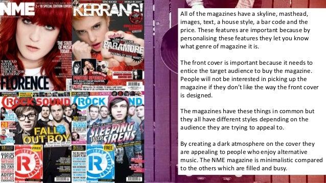 Music Magazine Examples
