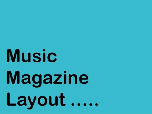 MusicMagazineLayout …..