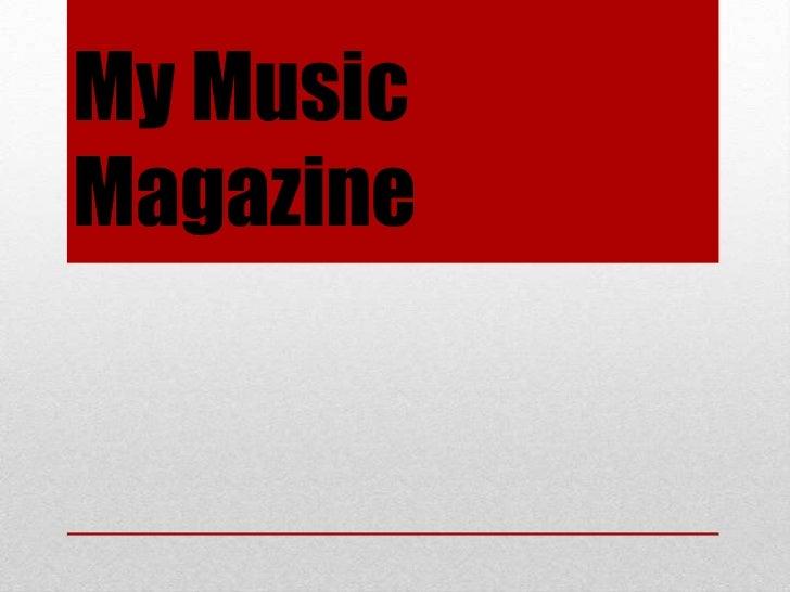 My MusicMagazine
