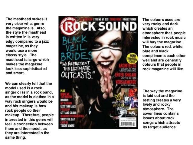 Pop music magazines