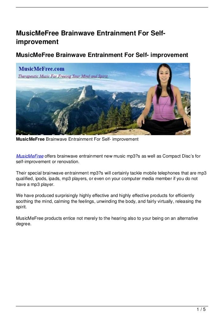 MusicMeFree Brainwave Entrainment For Self-improvementMusicMeFree Brainwave Entrainment For Self- improvementMusicMeFree B...