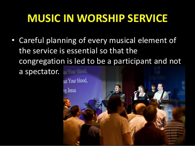 Aboutmusic For Your Church Services