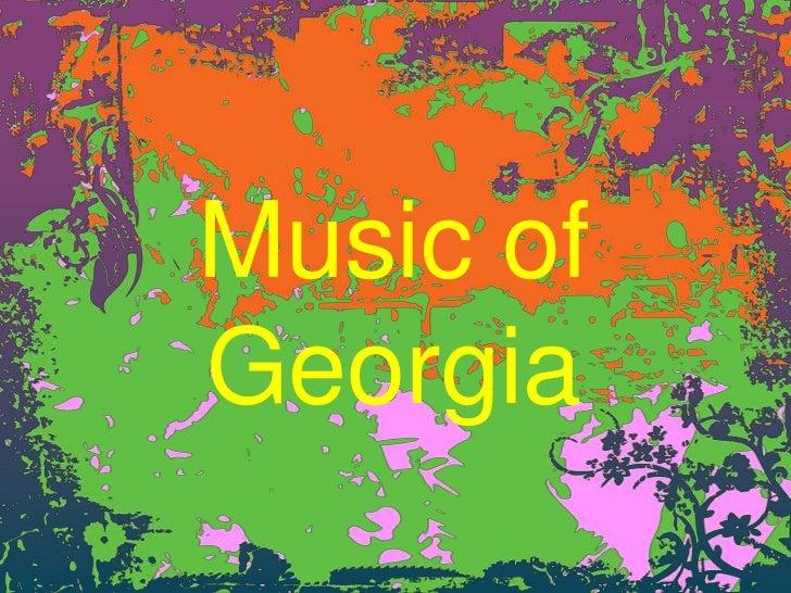 Music ofGeorgia