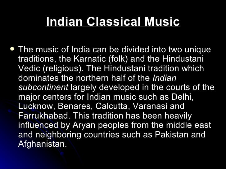 music of india powerpoint 2