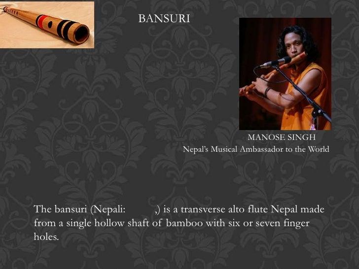 BANSURI                                                   MANOSE SINGH                                  Nepal's Musical Am...