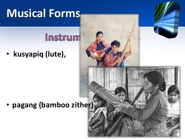 What indigenous musical instruments are found in Palawan?