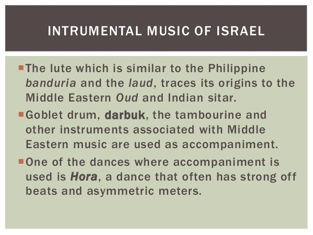 Music Of South Central And West Asia
