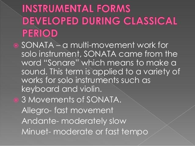 Movement (music) - Wikipedia