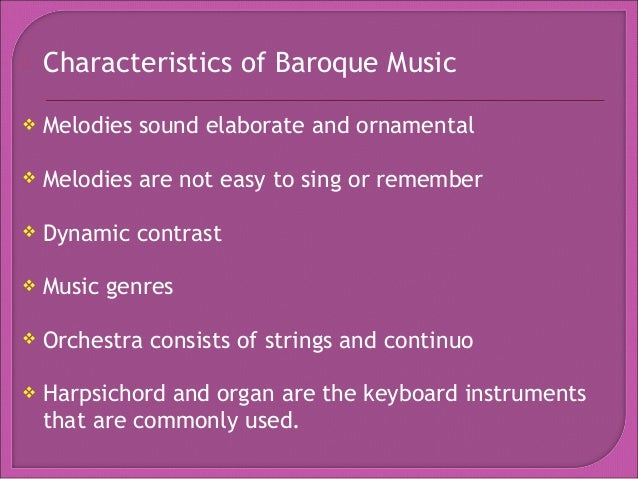Music of the medieval renaissance baroque music for What is the baroque period