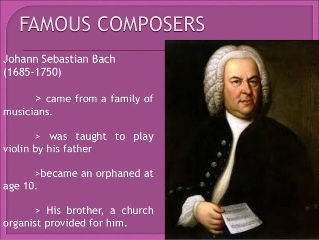Baroque to Classical Kinds of Music and Composers - Essay Example