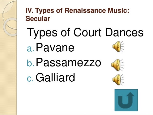 what are the two main forms of sacred renaissance music