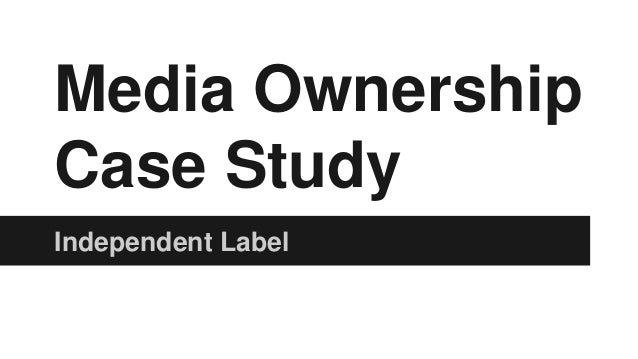 Music Ownership Case Studies