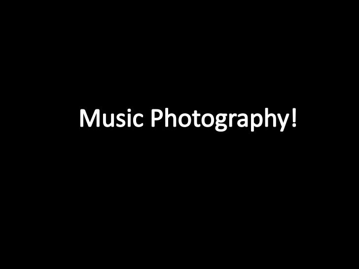 Most music photographers' work as freelancers andearn there money by selling their pictures to aselection of magazines, an...