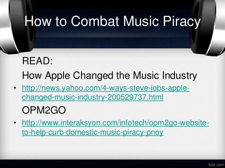Online music piracy