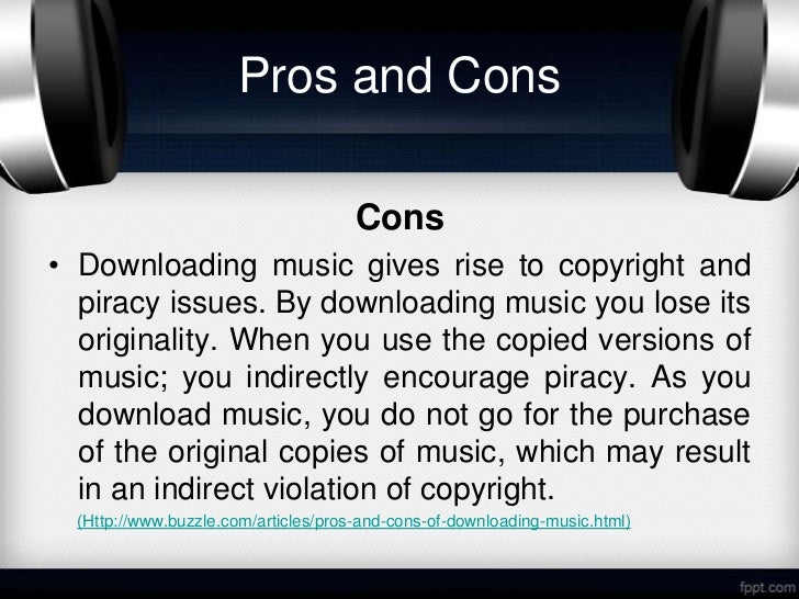 On Online Music Piracy and Purchasing Habits Essay