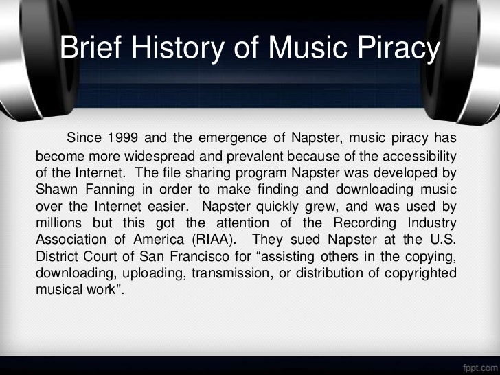 online music piracy Keywords: physical album sales, online music piracy, digital music, granger   yet, a few other studies dispute the impact of online music piracy on physical.