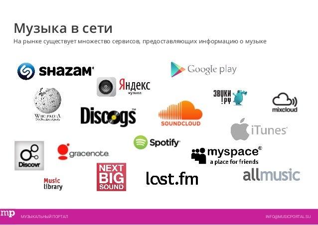 Музыкальный Портал, информация о музыке и музыкантах Slide 3