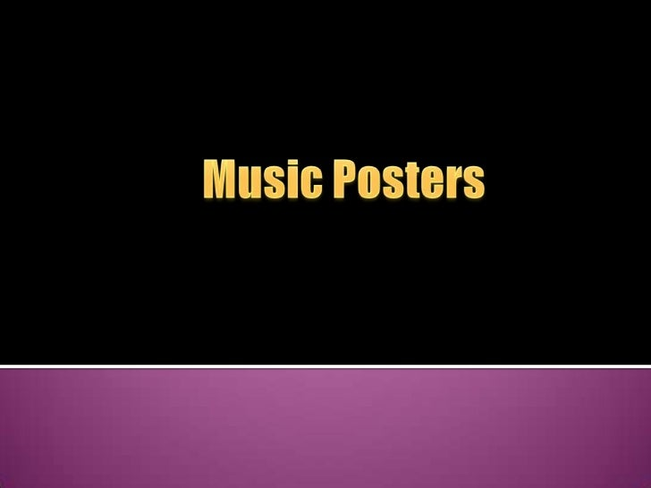 Music Posters<br />
