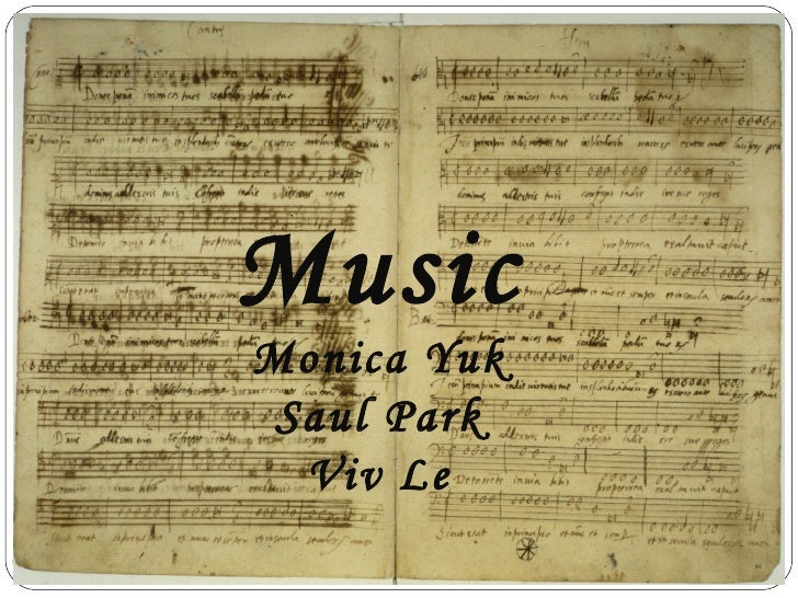 Music    Monica Yuk     Saul Park      Viv Le1