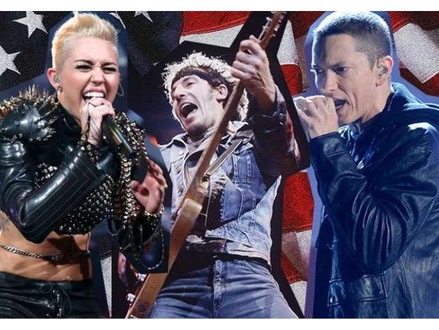 • American idol • The Voice • America's Got Talent