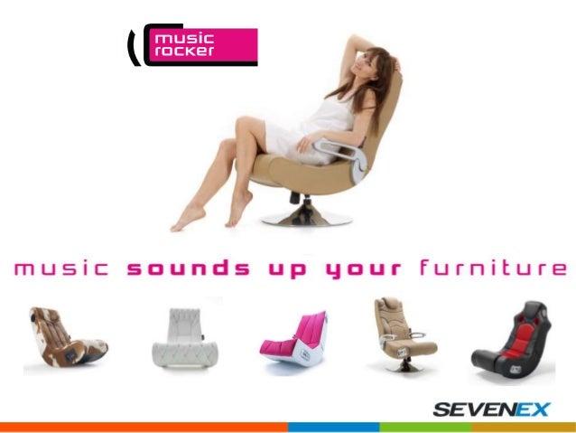 As Music Rocker são compostas por uma fantástica tecnologia de som integrada, que transforma por completo as mais variadas...