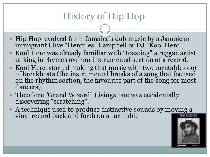 The unique style, music and moves……. Hip hop is a style of rap.