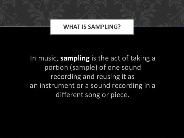 Art of Music Sampling