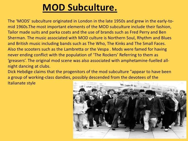 mod subculture mod subculture music subcultures 2