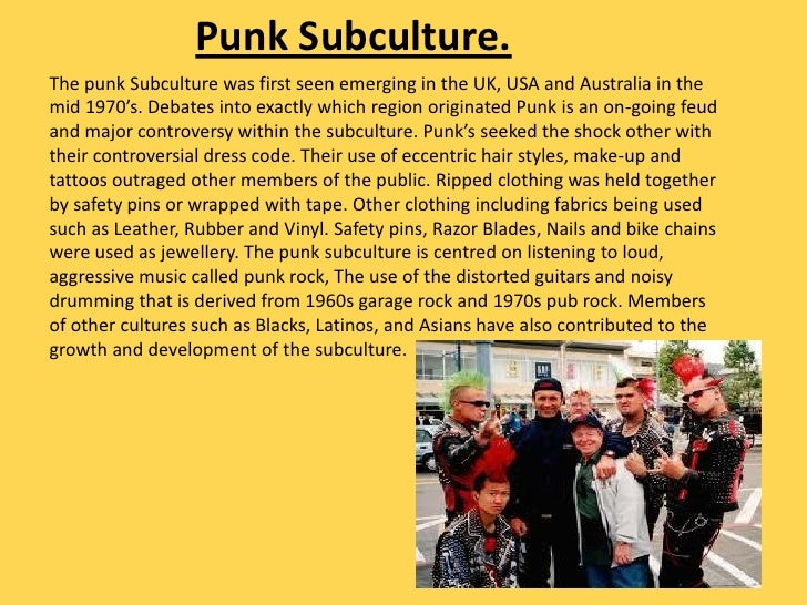 Music Subcultures 2