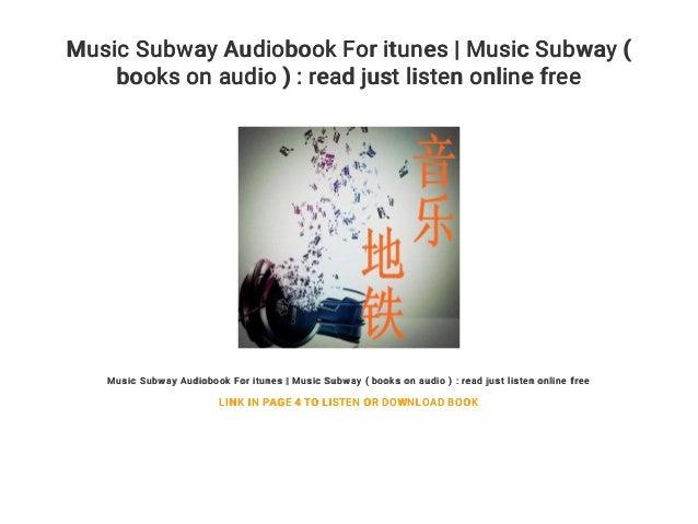 Music Subway Audiobook For itunes | Music Subway ( books on audio ) :…