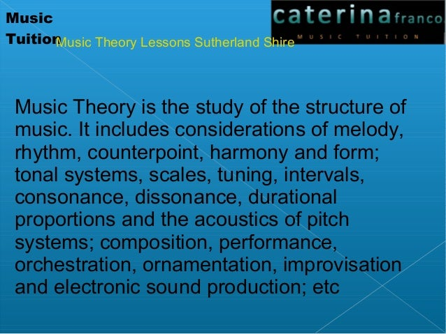 Image Result For Music Theory Melody Composition