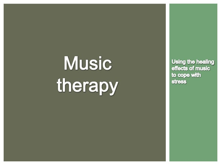 """ Music Therapy is an """"established health profession in which  music is used within a therapeutic relationship to address ..."""