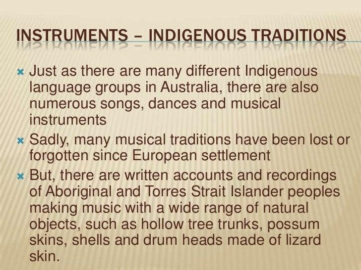 Torres Strait Islander Musical Instruments