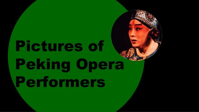 Pictures of Peking Opera Performers