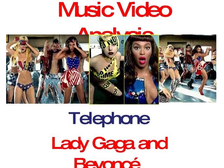 Music Video Analysis Telephone Lady Gaga and Beyoncé