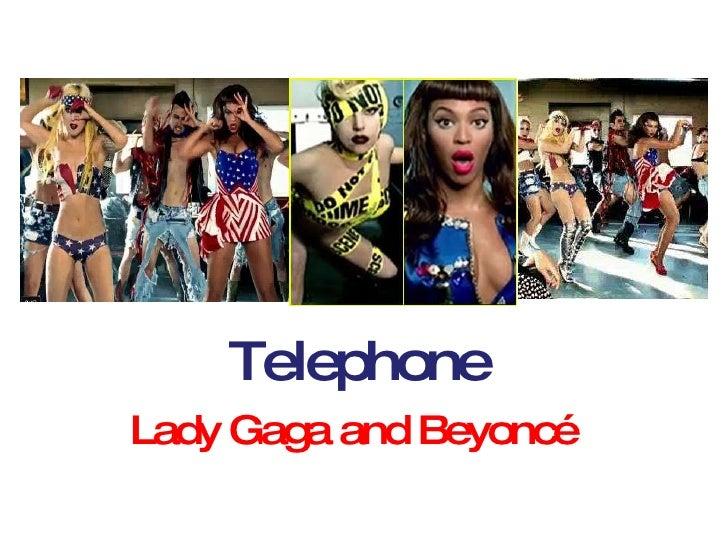 Telephone Lady Gaga and Beyoncé