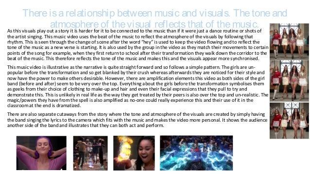 Music Video Analysis, Black Magic-Little Mix