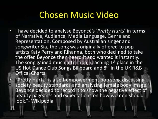 analyse pretty hurts Analysis: romanians design for the stars  the brand in a new york store used a murmur bodysuit for beyonce's music video pretty hurts.