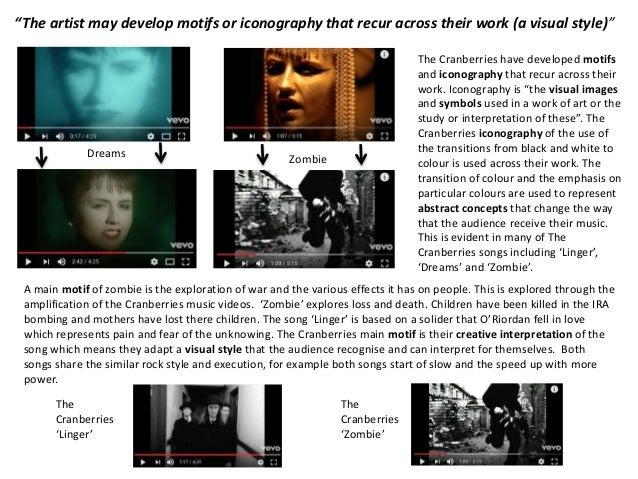 Music Video Analysis Transition Work