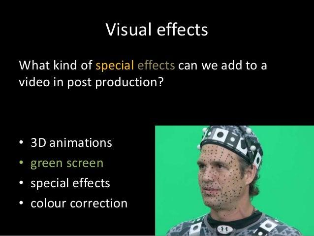 Music video - green screen & visual effects