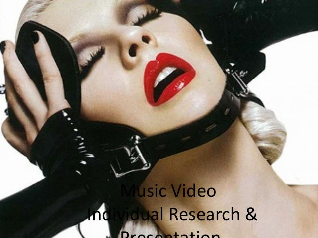 Music Video Individual Research &