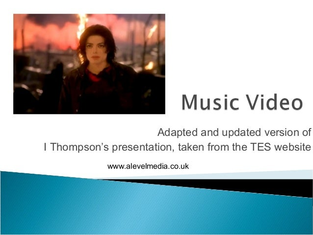 Adapted and updated version ofI Thompson's presentation, taken from the TES website            www.alevelmedia.co.uk