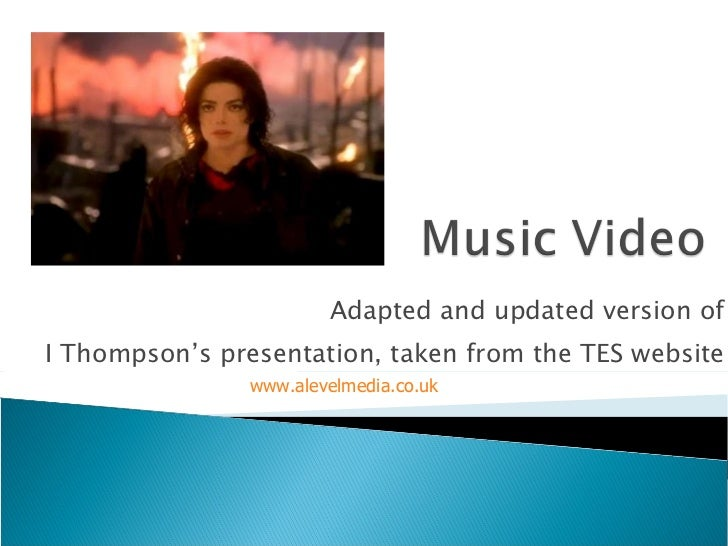 Adapted and updated version of I Thompson's presentation, taken from the TES website www.alevelmedia.co.uk